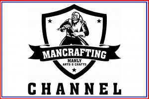 Mancrafting Button