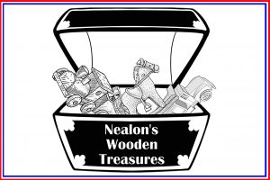 Nealons Wooden Treasures Button