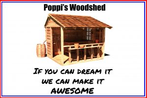 Poppis Woodshed Button