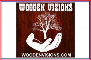 Wooden visions Button